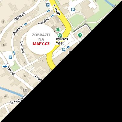 Zobrazit na mapy.cz